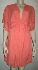 Accessorize cool orange beach dress size M