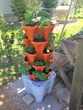 Automated Vertical Garden - Smart Farm Hydroponic Tower Garden Kit - Terracotta