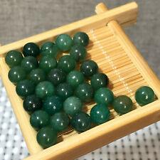 30pcs Natural Dongling jade ball Crystal Collectibles 6mm 23g a332