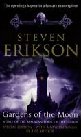 Gardens of the Moon (Book 1 of The Malazan Book ... by Erikson, Steven Paperback