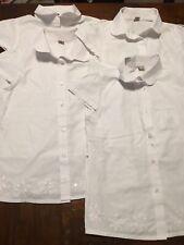 Girls White Shirt Bundle 11 Years Four Shirts