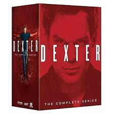 Dexter:The Complete Series Seasons 1-8  (DVD,2015,32-Disc Set) Box Set  NEW!!
