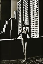 1975 Vintage ELSA PERETTI Bunny Fashion HELMUT NEWTON New York Photo Art 12X16