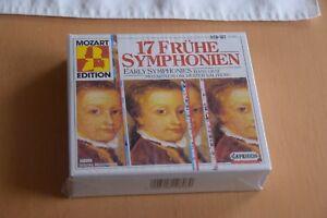 17 Frühe Symphonien 3-CD Box Neu Capriccio Mozart Edition
