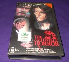 THE AMITYVILLE HORROR VHS PAL JAMES BROLIN
