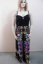 WOMENS FLORAL PRINTED EXOTIC STUNNING MAXI CITY CHIC DRESS