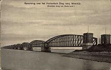 Moerdijk Niederlande Nederland Nordbrabant ~1910 Spoorbrug Brücke Brug Eisenbahn