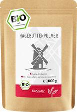 BIO Hagebuttenpulver - Rohkostqualität 100% naturrein - bioKontor - 1000g