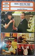 US Movie Married To The Mob Michelle Pfeiffer French Film Trade Card
