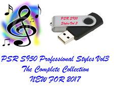 YAMAHA PSR S950 Pro styles et Midis Lecteur Flash USB neuf pour 2017