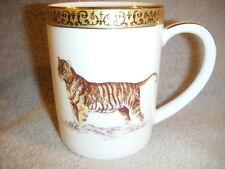 GOLD BUFFET ROYAL GALERY TIGER  MUG CUP very pretty 2000 Federation Stores