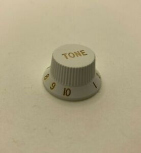 White Strat Tone Knob - Single