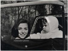Marisa Pavan mit Sohn Patrique, Original Presse-Photo von 1961.