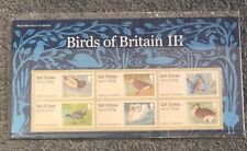 GB 2011 Birds 3 Post & Go. 6 x 1st Class Different Designs. (Pack P&G 4). FS16
