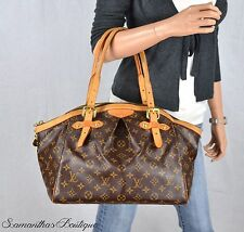 LOUIS VUITTON TIVOLI GM MONOGRAM LEATHER SHOULDER BAG TOTE SATCHEL HANDBAG PURSE