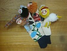 Hand Puppet Glove Farm Animals