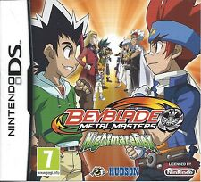 BEYBLADE METAL MASTER NIGHTMARE REX for Nintendo DS - with box & manual