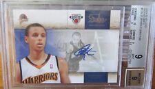 2009-10 Studio Signatures Stephen Curry Auto #138/199 BGS 9 MINT