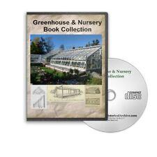 Greenhouse Nursery Construction Winter Harvest Prepper Gardens 41 Books CD B391