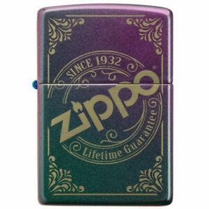 Since 1932 Logo Branded Iridescent Zippo Windproof Lighter