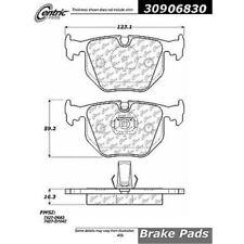 Centric Parts 309.06830 Rear Semi-Metallic Brake Pads