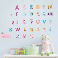 My Little Pony Alphabets Removable Wall Stickers Kids Nursery Girls Decor Gift