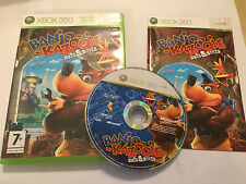 XBOX 360 GAME BANJO-KAZOOIE NUTS & BOLTS +BOX & INSTRUCTIONS COMPLETE PAL