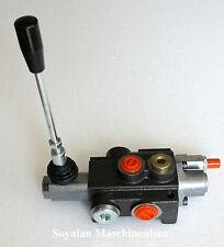 Hydraulik Handsteuerventil  1-fach 50 Lt./ für  einfachwirkende  -Zylinder