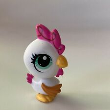 Littlest Pet Shop Rare Pink Chick Chicken Hen Rooster 3338 Authentic