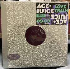 "ACE JUICE LOVE TRAIN GO GO 12"" M.C. HAMMER 1989 CAPITOL V-15547 DJ COPY SEALED"