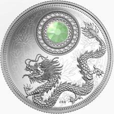 CANADA 2016 - $5 Silver October Birthstone Opal - Dragon