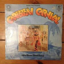 "Nite Blues Steel Band-Caribbean Carnival - 12"" LP vinile disco reggae"