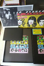 """BOX SUPER DELUXE """"THE ROLLING STONES"""" SOME GIRLS 2 CD + DVD + VINILE + LIBRO..."""