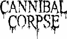 Cannibal Corpse band vinyl sticker decal / Sticker