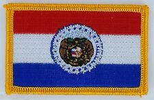 Ecusson Brodé PATCH drapeau Missouri USA ETATS UNIS FLAG EMBROIDERED