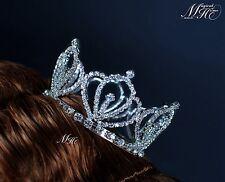 Kids Girls Princess Tiaras Rhinestone Crowns Pageant Prom Jewelry Accessories