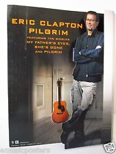 "Eric Clapton ""Pilgrim"" 3-D U.S. Promo Counter Display -E.C. Standing With Guitar"