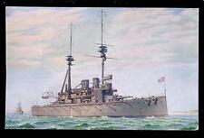 Royal Navy H.M.S.. Lord Nelson Battleship PPC Tuck Oilette #8643