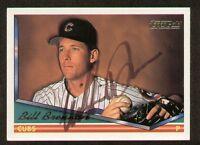 Bill Brennon signed autograph auto 1994 Topps Baseball Trading Card
