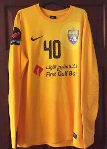 Al Ain UAE Nike Football Goalkeeper Shirt Jersey Mens Med #40 Bu Senda