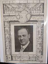 Blair Lee Gilbert Issue 1919 The Magic World Periodical