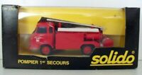 SOLIDO  - 3303 POMPIER 1ER SECOURS FIRE ENGINE