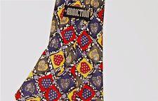 Mens Designer Silk Tie Novelty Heart Love Valentine Vintage Korea Mod Pattern