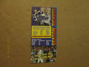 USHL Tri-City Storm Vintage Circa 2007-08 Team Logo Season Ticket Brochure