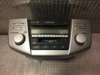 Lexus Mark Levinson CD Changer Player 6 Disc Tape Radio RX 300 86120-48A90
