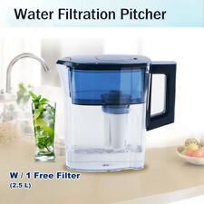 2.5L Water Filtration Pitcher, Home Drinking Water Jug Purifier BPA Free Tea Pot
