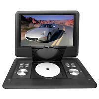 """New Pyle 14"""" Portable Swivel TFT DVD CD USB/SD Player W/ Remote + Car Adapter"""