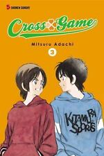 Viz Media Cross Game Vol 3 Mitsuri Adachi Shonen Sunday Manga TPB Book 2011 New