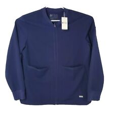 New listing Nwt Figs Mens Size Large Navy Blue Zapote Scrub Jacket 2.0