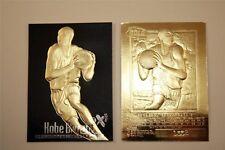KOBE BRYANT 1996-97 EX-2000 LTD ED. BLACK 23KT GOLD ROOKIE CARD! LAKERS 5X CHAMP